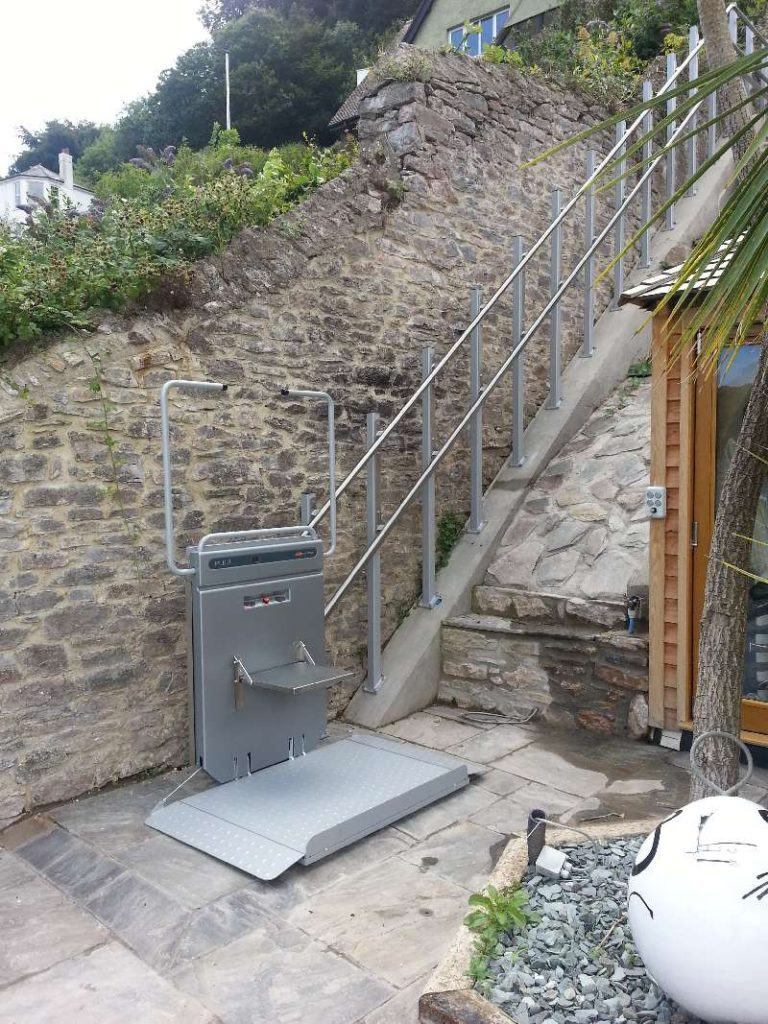 Curved Rail Stairlifts - Level Lifts