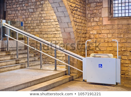 inclined wheelchair lift people disabilities 450w 1057191221